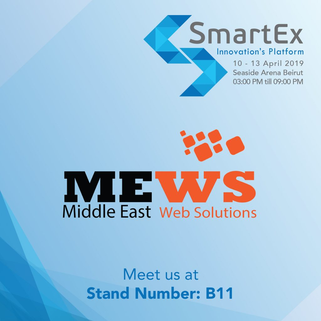 Meet MEWS @Smartex 3rd Edition 2019 – Let's Unlock the Power of Digital Transformation