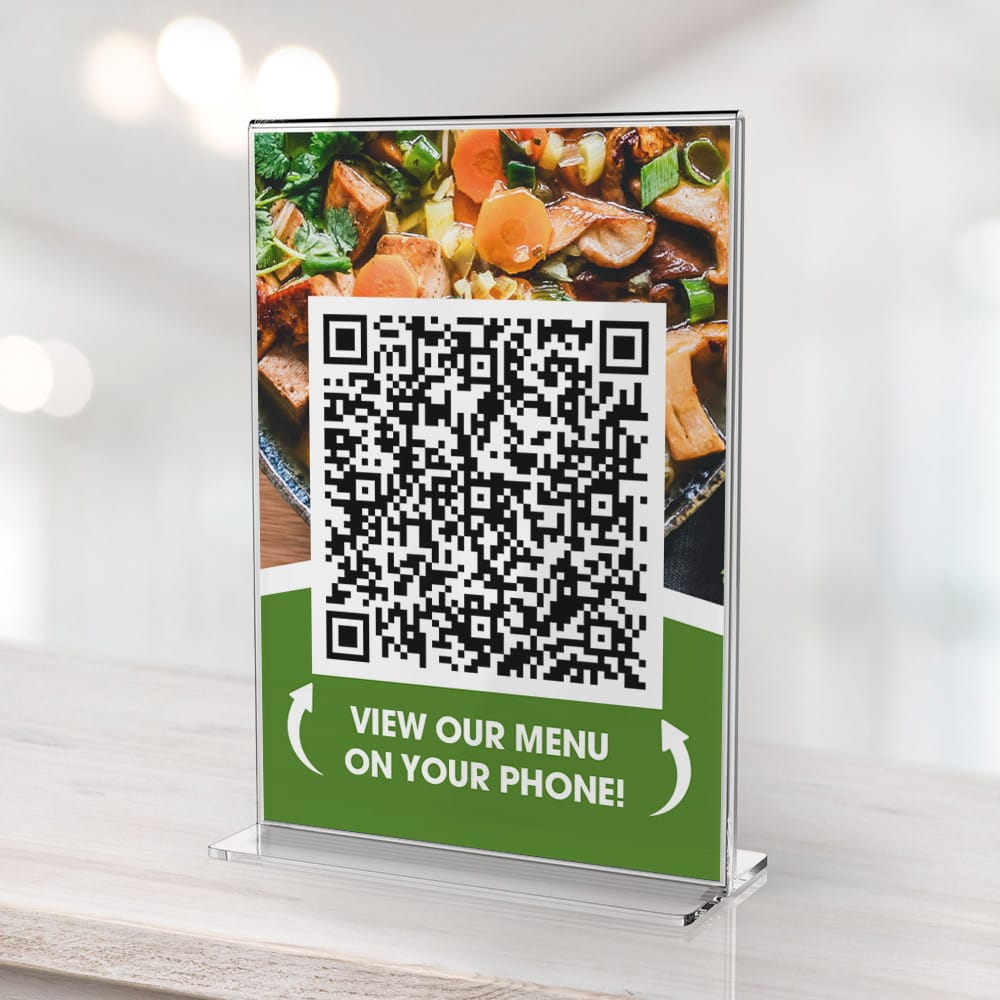 Reasons to use a QR code menu for you business